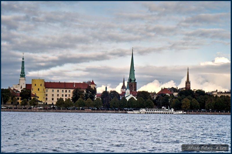 Panorama starego miasta